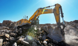 XCMG XE900C excavator in XE900C south of the southwest border color cloud