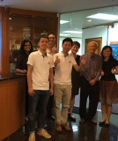 Business visit in Singapore