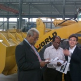 Customers Visiting-Wheel Loaders (Bangladesh)