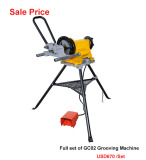 GC02 roll grooving machine