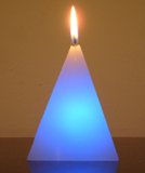 Pyramid LED Candle