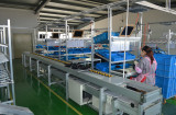 Machine assemble line