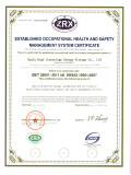 OHSAS 18001:2007 Occupation Health Safety Management System Certification