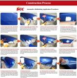car paint contruction process