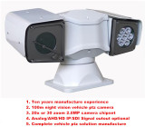 100m Night Vision 20X Zoom 2.0 Mega Pixel New Vehicle PTZ Camera