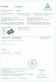 Zertifikat Certificate