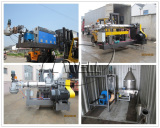 Compactor type pelletizing line shipping
