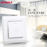 High quality PC white doorbell switch