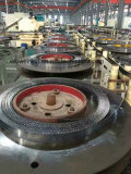 Band saw blade production line.