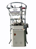 new socks knitting machine with lingking device and turning device