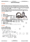 Tapered Roller Bearings (Ask for more)