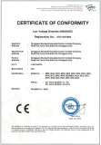 ce certificate of limit switch