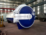 To Brazil: 2850x8000mm Glass Autoclave to Brazil in 2016