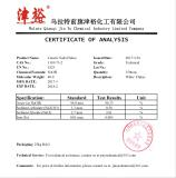 96% Caustic Soda Flakes - Test Certification
