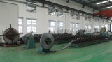 machine for steel profile