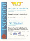 ISO9001:2008 of our factory