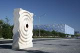 2008 Years Beijing Olympic Games Stone Statue