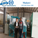 Malawi client maize mill