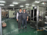 Jordan customer in our factory