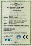 CE Certificate of Float