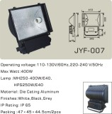 Die-casting Aluminum Flood Light E40 for Metal Halide Lamp and High Pressure Sodium Lamp