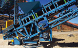 SMR Series Shaft Mounted Gearbox Applied to Conveyor