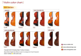 Middle violin color chart
