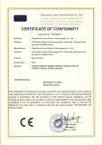 (LVD)CE Certificate for EDS800 Series