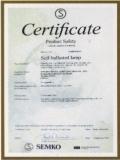 SEMKO Certificate