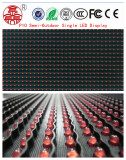 High Brightness P10 Single Red Semi Outdoor LED Screen Display Panel