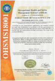 ISO18001 TEST REPORT
