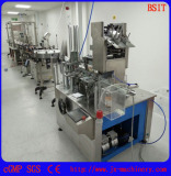 E-cig liquid filling sealing capping line