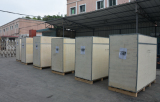 industrial water chiller with plywood box for export