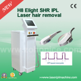 Perfesional 2000w permanent IPL SHR laser Hair Removal Machine H8
