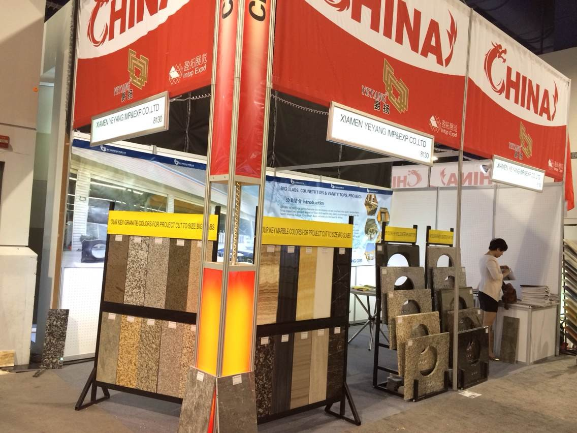 Booth in Coverings in 2014
