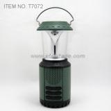 Dynamo Solar Camping Lantern with Radio (T7072)