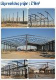Steel Prefabricated Building Workshop in Libya