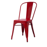 Stackable Industrial Side Metal Tolix Chair