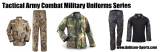 Tactical Army Combat Military Uniforms Series