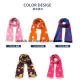 Fashion Silk Long Scarf for Children