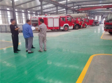 Hebei Huaqi cooperated with Ruentex for fire truck