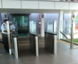 Malaysia Flap Barrier Gate Turnstile Project