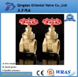Brass gate valve with high quality