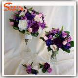 artificial flower bouquet silk cloth
