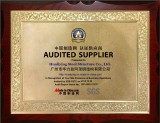Audited supplier from SGS