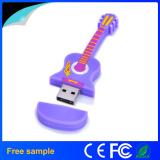 Music Guitar Shaped PVC USB Flash Drive