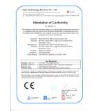 CE certificate Media Converters_OnAccess2000_LVD