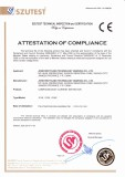 CE Certificate of Compound Eddy Current Separator
