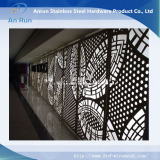 laser cutting panel as decoration fence