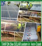 TANFON 5kw SOLAR system in Ivory Coast